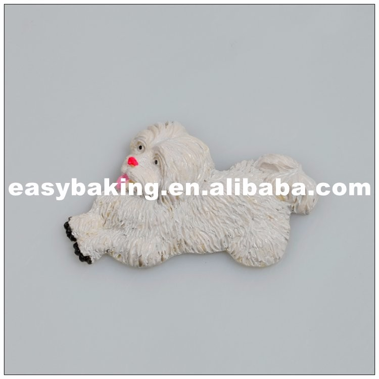 Running Puppy Shaped Cute Silicone Soap Molds Muffin Mould ES-1017