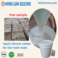 sale liquid silicone for marble stone molding easy shedding mold silicone rubber material