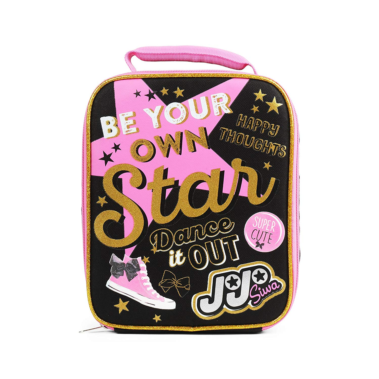 Fab Starpoint Nickelodeon JoJo Siwa Pink Stars Insulated Lunch Kit