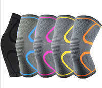 hot selling TV products high quality knitting knee compression sleeve