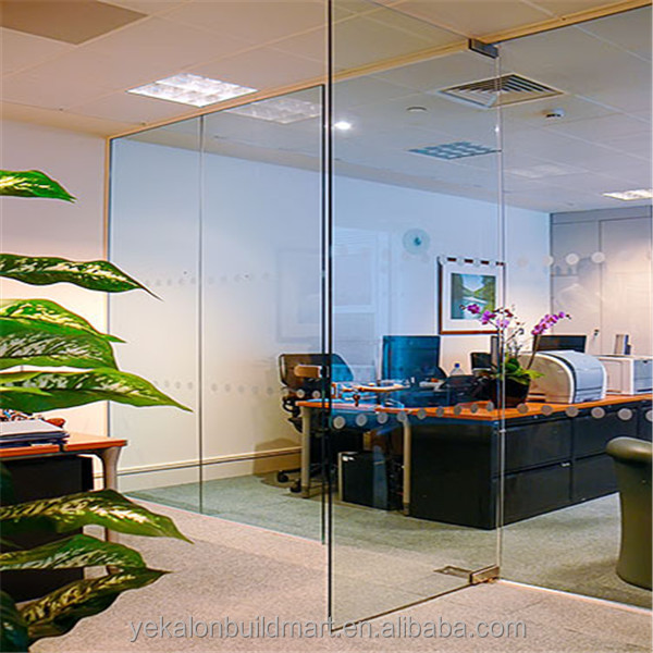 Charming The Bathroom Living Room Office Glass Partition Wall Part 9