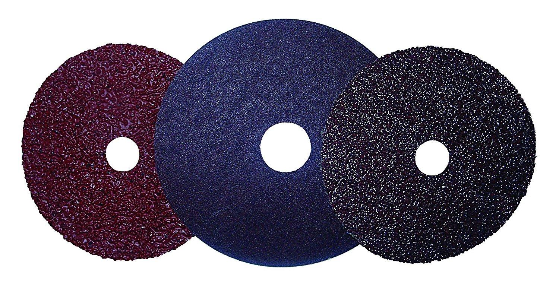 100-Grit 25-Pack Shark 50100 5-Inch Aluminum Oxide Resin Fibre Discs