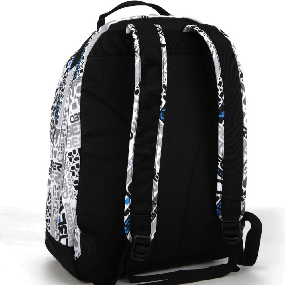 School bag new design - 2015 New Design Polyester Material School Bag New Models