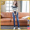 Hot Sale Customized 2016 Grossistes New Style Fashion Women Cheap Jeans