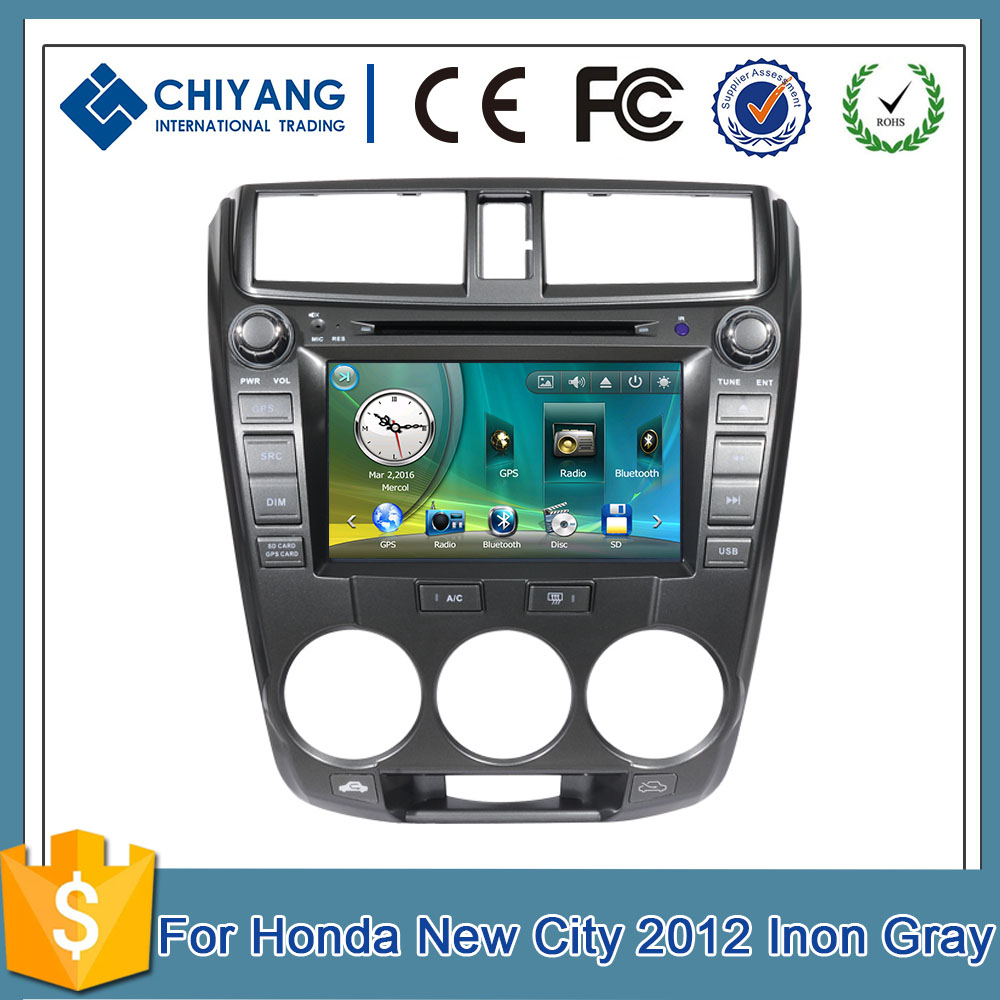 "Joying 8"" WINCE 6.0 Touch Screen Car gps navigation New City 2012 Inon Gray car multimedia player"