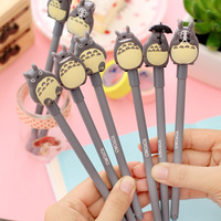 New 0.38mm Kawaii Cartoon Totoro Gel pens Cute Creative Stationery For Kids Children Students