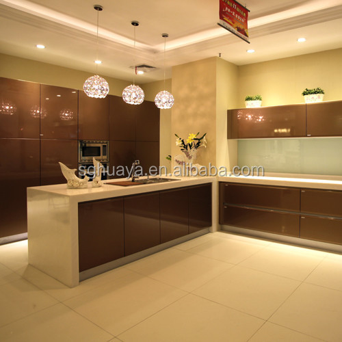 Metal Lacquer New Model Kitchen Furniture Kitchen Cabinet Simple Design