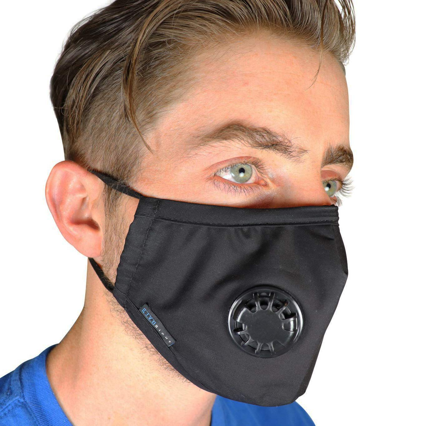 de8b53955fb Get Quotations · Full Seal Pollution Mask for Men   Women ~ Reusable Cotton  Air Filter Mask With Adjustable