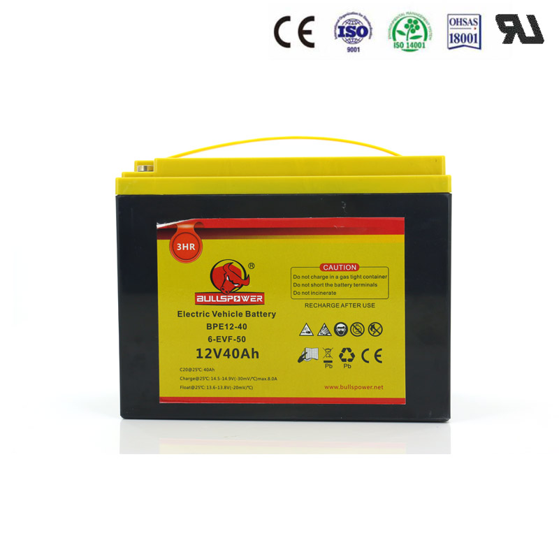 Free Maintenance vrla lead acid battery for rickshaw/scooter/motorcycle