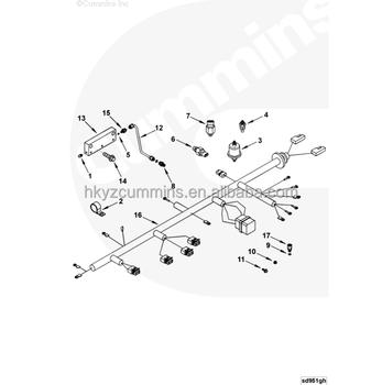 Ccec Engine Spares Switch Temperature 3408625
