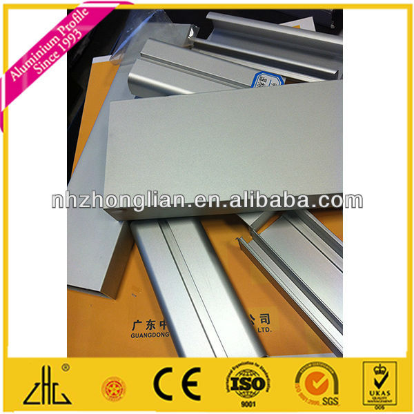 WOW!!!Best seller of magnesium oxide profile/silver anodizing/anodic oxidation film 13-25um/anodized aluminium profile supplier