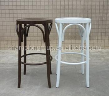 Thonet Metal Bar Stool Backless Stools Mx 0011c Swivel Wedding Chair Product On