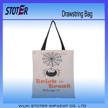 Custom drawstring non woven bag for Halloween and Thanksgiving Discount