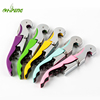 Multi-function Stainless Steel All-in-one Double Hinged Corkscrew Foil Cutter Knife Cap Opener Wine Beer Bottle Opener