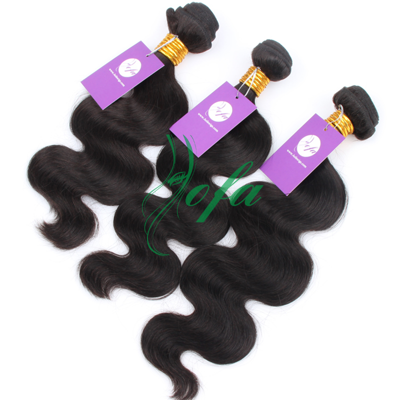 Wholesale 100% hair extenions buy bulks of virgin brazilian hair 3 pcs /pack