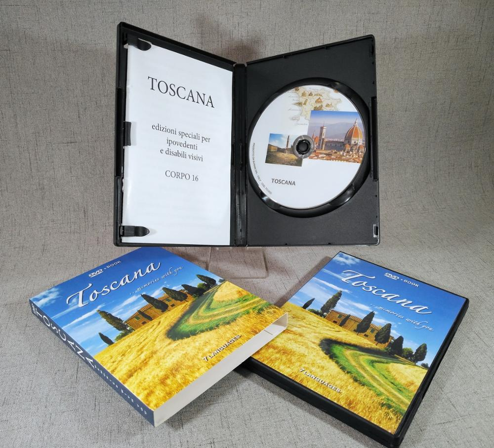 DVD Replication Duplication with DVD Box Booklet Inlay Cardboard Sleeve