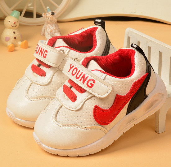 wholesale children's shoes Korean version sport shoes toddler shoes infant baby boys and girls LED lighting