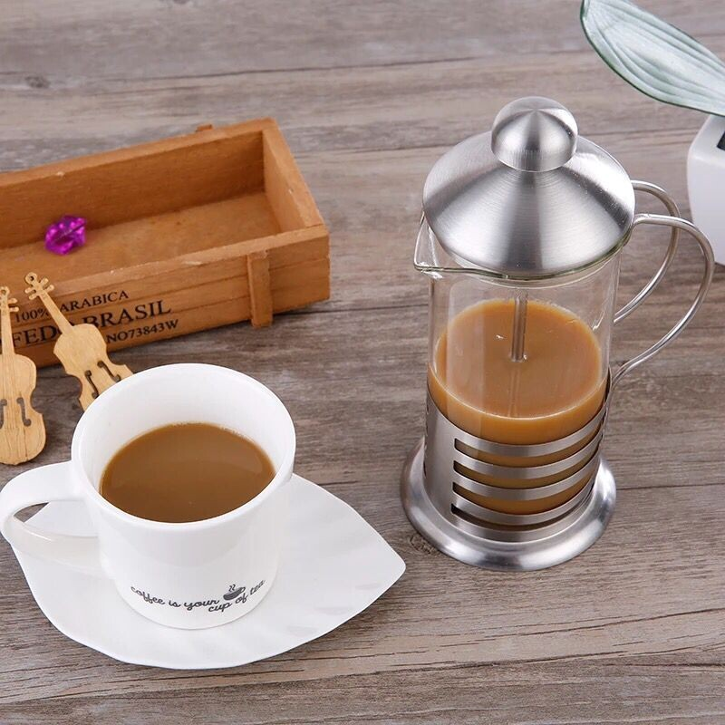 European Glass Coffee Maker : Stainless Steel European Glass Small French Press Coffee Maker And Tea Press - 350 Ml / 12 Oz ...