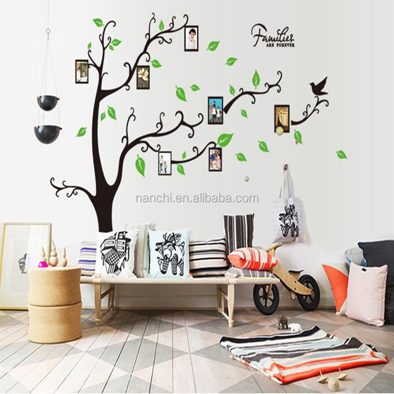 Ay9063a Pvc Photo Frame Trees Wall Stickers Home Decor Family Tree ...