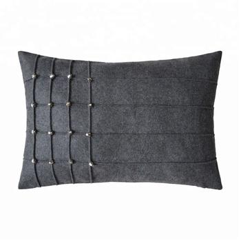 Backrest Smocking Cushion For Sofa