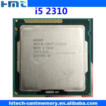 desktop intel quad core cpu processor i5 2310 2.9GHz 6M LGA1155
