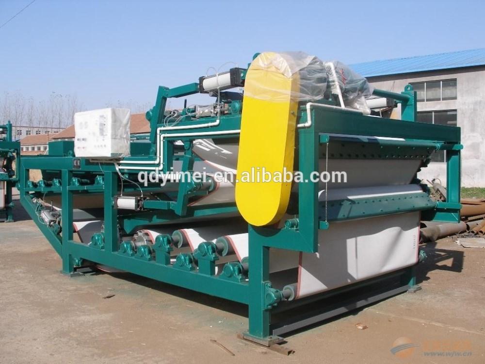 YMYL Belt filter press sludge compression equipment