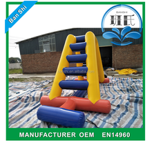 2017 new design kids obstacle course equipment, outdoor obstacle course equipment,adult inflatable obstacle course