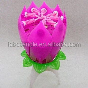 Original amazing lotus flower musical birthday candle buy birthday original amazing lotus flower musical birthday candle mightylinksfo