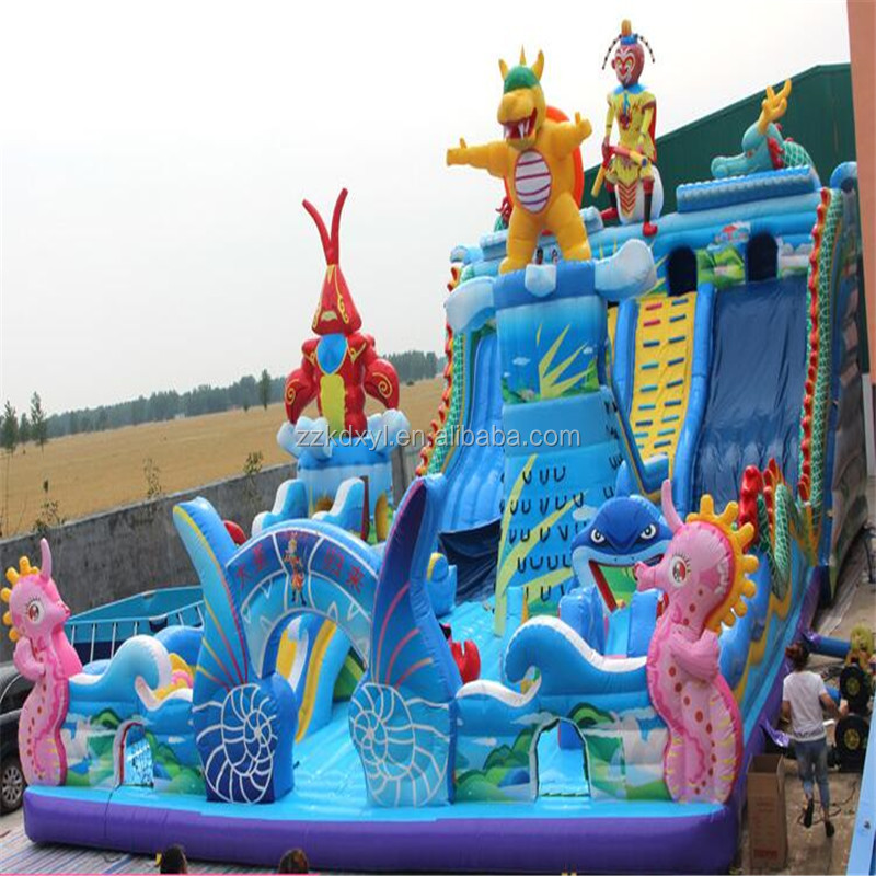 latest jumping castle in 2019, playing castle inflatable bouncer, inflatable combo inflatable toy