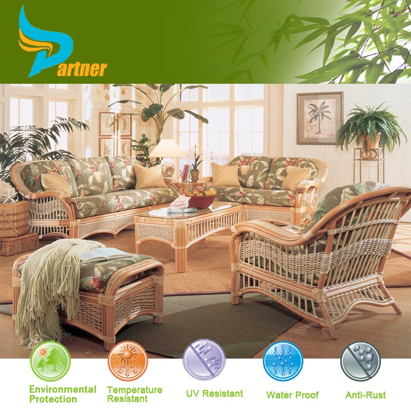 Furniture Charming And Elegant Cheap Living Room Sets: Exporter Antique Exotic Cheap Rattan Sofa Set Outdoor