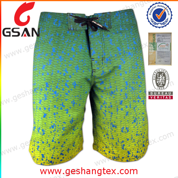 Customized Man Surf Board Shorts Mens Swimming Shorts