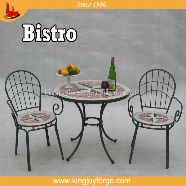 Mosaic Garden Bistro Set for outdoor,club and coffee shop