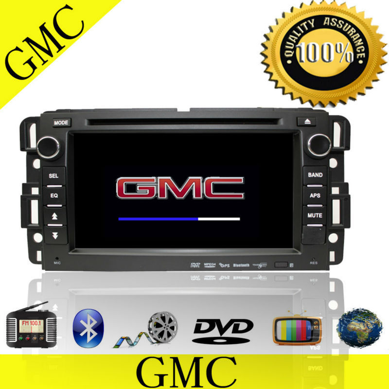 For gmc acadia car radio navigation system with bluetooth tv