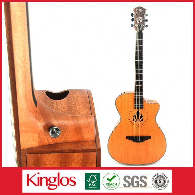 "Popular Rosewood Visual Artistic Carving Acoustic Guitar Beginner guitar 39"" 40"" 88""With unique design (S41U-010-029)"