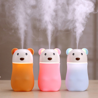 2017 New innovative products 180ml Mini USB air humidifier aromatherapy diffuser with colorful night lights