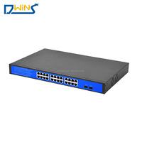 FOB Good Price Port Switch 10/100M 24 Poe Active Switch