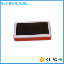 Oem provide best quality 13000mah universal mini solar system with mobile charger