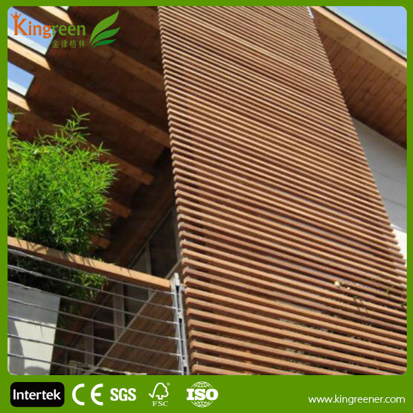 Wood Plastic Composite Wall Panel Outdoor Composite Wall