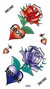 Cheap Rose Heart Tattoos Find Rose Heart Tattoos Deals On Line At