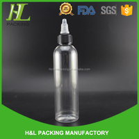 e juice e liquid plastic clear pet 120ml bottle with twist top cap