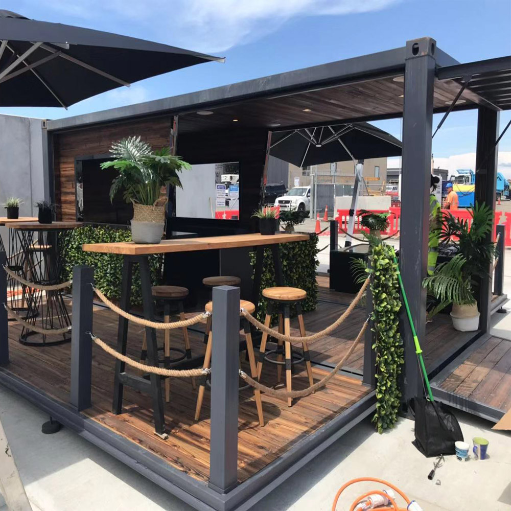 mobile bars/container bar/prefabricated container shop store