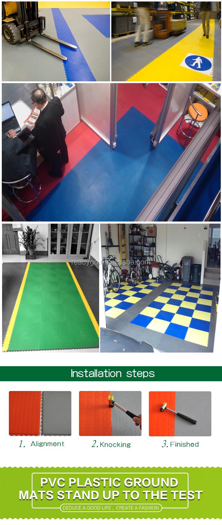 Rubber tiles flooring customer interlocking rubber floor tiles for