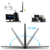 1200Mbps 802.11 AC Dual Band 2.4Ghz/5Ghz USB Wireless /WiFi USB Adapter with External Antenna