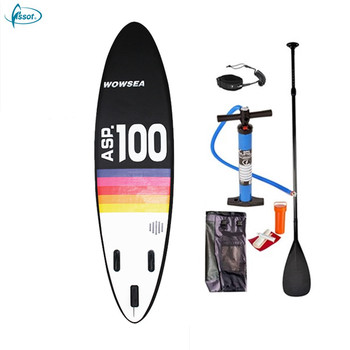 Fissot factory supply 10' inflatable stand up paddle board OEM/ODM