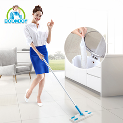 BOOMJOY Household Cleaning Products Non-woven Fabric Cleaning Floor Flat Mop