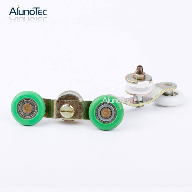 Glass Shower Door Pulley Set For Nylon Wheels Rodamiento Doble