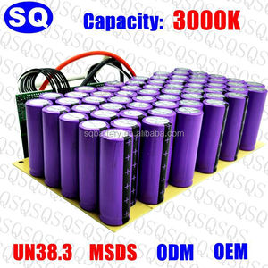 12V 24V 36v 48v 5ah 10ah 20ah 18650 lithium ion li-ion lifepo4 rechargeable deep cycle electric bike vehicle car battery pack p