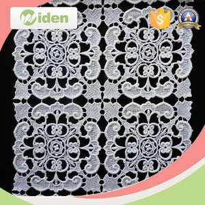 Embroidery Cotton Guipure Lace Fabric, Thailand Water Soluble Lace Fabrics,stretch guipure lace fabric