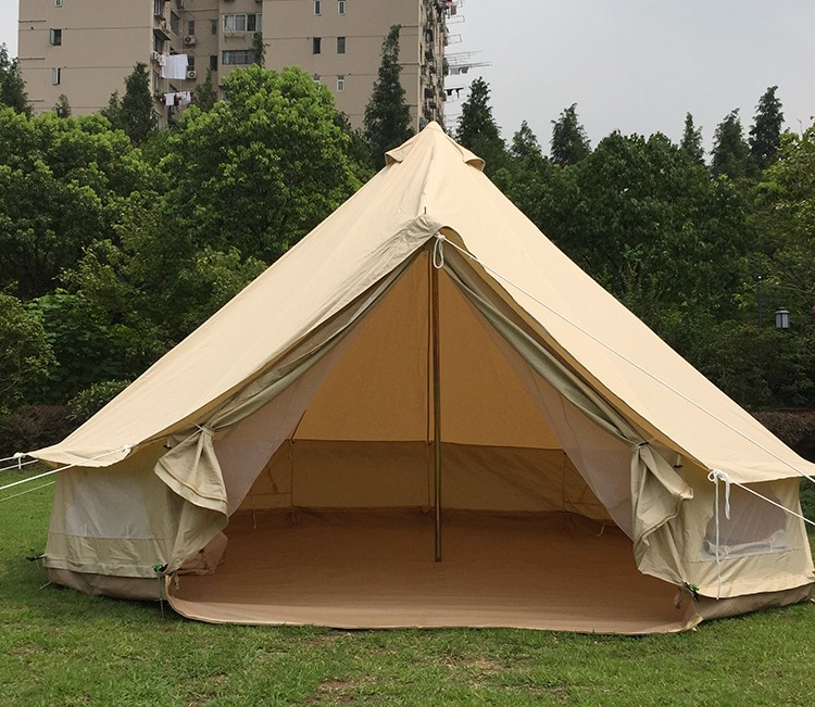 Cheap gl&ing tent for sale 5m bell tent heavy duty cotton canvas tent & Cheap Glamping Tent For Sale 5m Bell Tent Heavy Duty Cotton Canvas ...