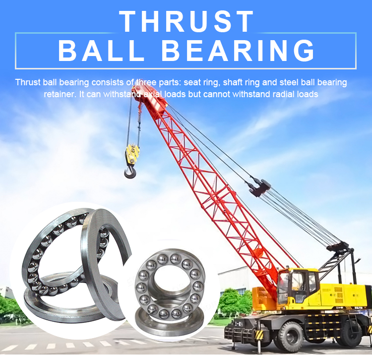 150x250x98 mm Double Two Way Direction Thrust Ball Bearing 52236M